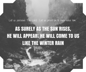 let-us-perceive-the-lord-let-us-press-on-to-experience-him-as-surely-as-the-sun-rises-he-will-appear-he-will-come-to-us-like-the-winter-rain-hosea-6-3