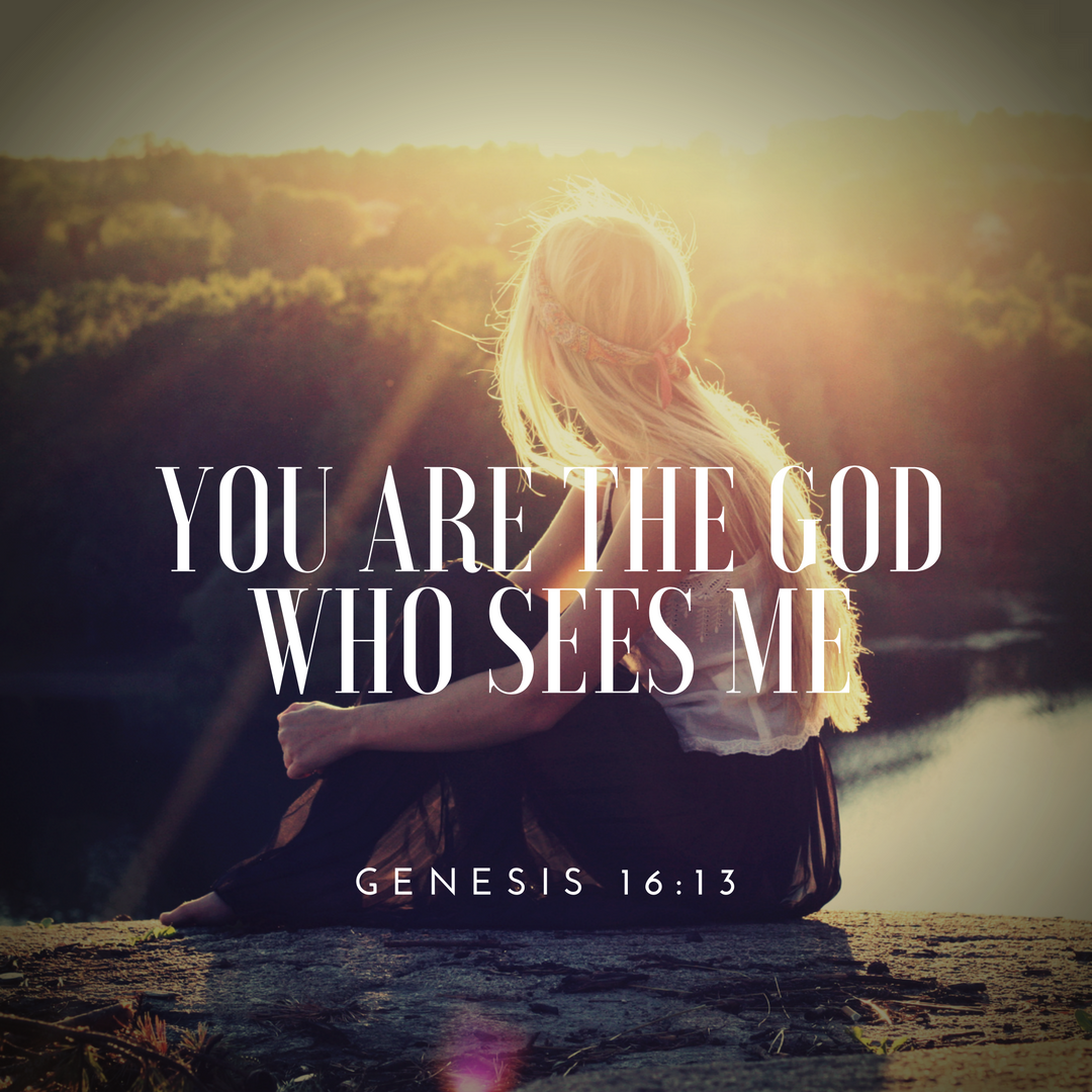 Image result for you are the God who sees me